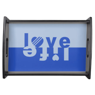 Love / Life serving tray