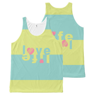 Love / Life tanktop All-Over Print Tank Top