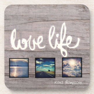Love. Life. Travel. Drink Coaster