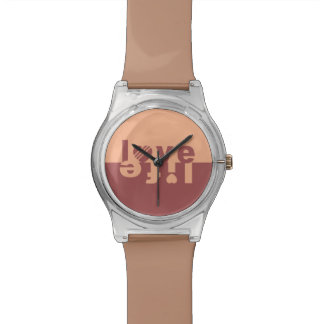 Love / Life watches