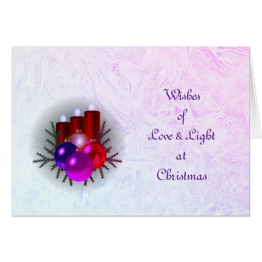 Love & Light Christmas Card