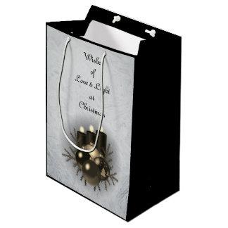 Love & Light Christmas Medium Gift Bag