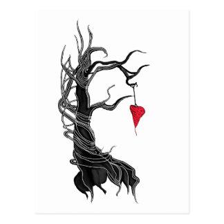 Love, like a tree postcard