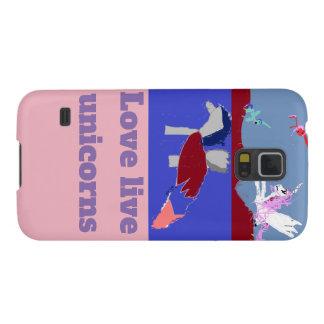 Love Live Unicorns Galaxy S5 Covers