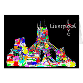 Love Liverpool - Catholic Cathedral Greeting Card