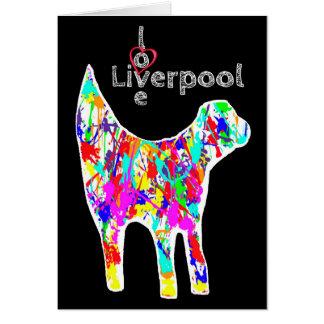 Love Liverpool - Lambanana Greeting Card