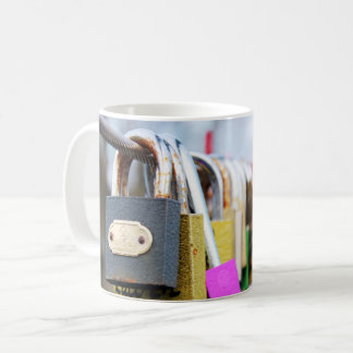 Love Lock Bridge Coffee Mug