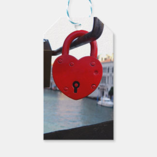 love lock in venice gift tags