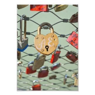 Love Lock Photo Art