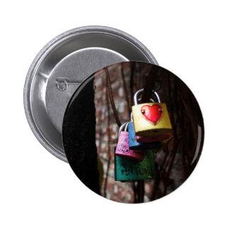Love Locked 6 Cm Round Badge