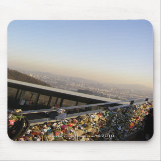 Love Locks/Namsan Park, Seoul, South Korea Mouse Pad