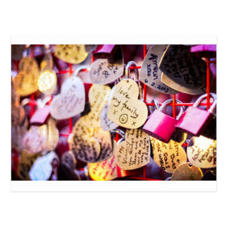 Love Locks Postcard