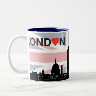 Love London Flag Mug