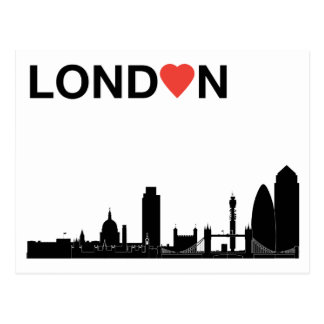 Love London Postcard