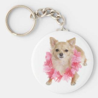 Love Long Hair Chihuahua Puppy Dog Key Ring