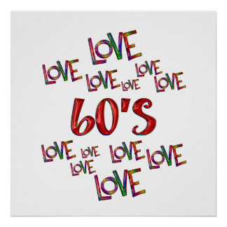 Love Love 60s Poster