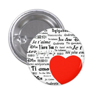 Love Love Pinback Buttons