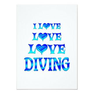 Love Love Diving Invites