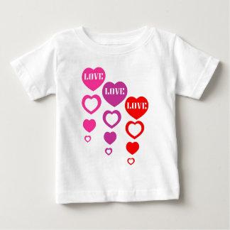 Love, Love, Love Baby T-Shirt