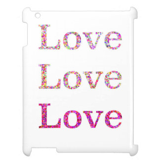 Love Love Love Case For The iPad 2 3 4