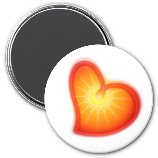 LOVE LOVE LOVE FRIDGE MAGNETS