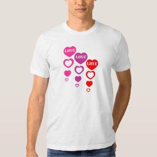 Love, Love, Love T-shirts