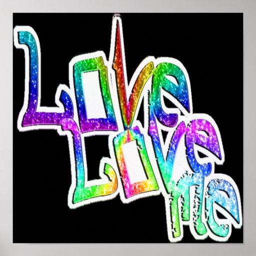 Love Love Me - Poster