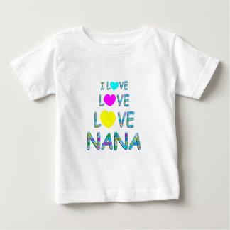 Love Love Nana Baby T-Shirt