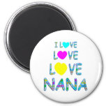 Love Love Nana Refrigerator Magnets