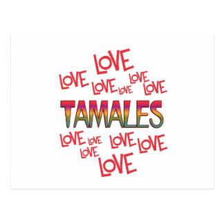 Love Love Tamales Postcard