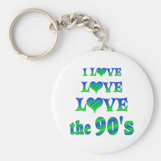 Love Love the 90s Keychains