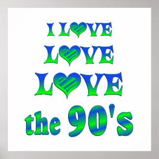 Love Love the 90s Print