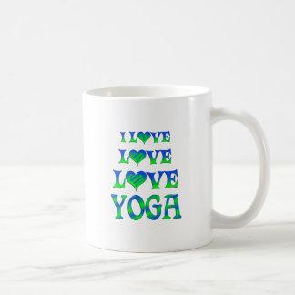 Love Love Yoga Coffee Mugs