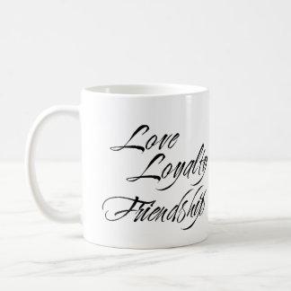 LOVE LOYALTY FRIENDSHIP custom photo bridal gift Coffee Mug