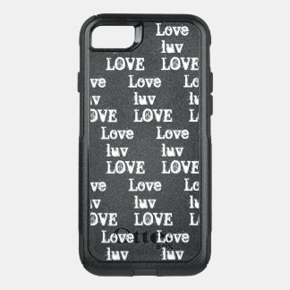 Love Luv LOVE OtterBox Commuter iPhone 8/7 Case