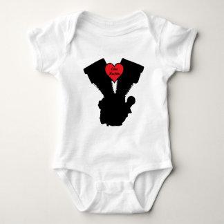 love machine baby bodysuit