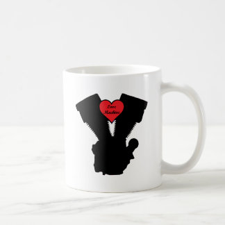 love machine basic white mug