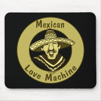Love Machine Cinco de Mayo T-shirts and Gifts Mouse Pad