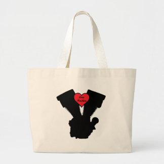 love machine jumbo tote bag