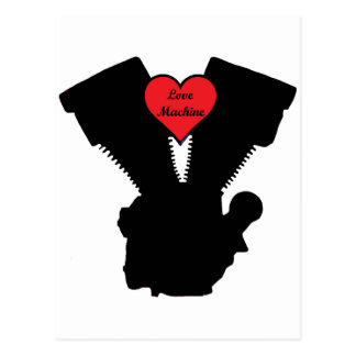 love machine postcard