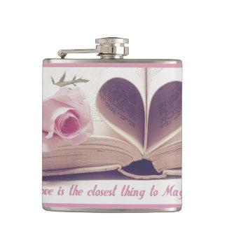 Love Magic Hip Flask