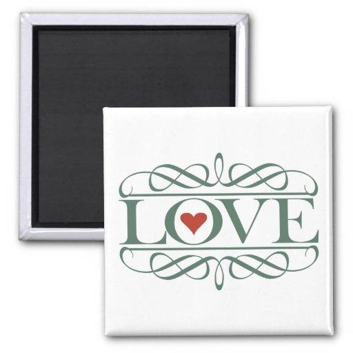 LOVE FRIDGE MAGNET
