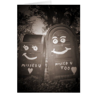 love mailboxes : i missed you card