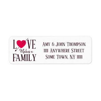 Love Makes a Family - Adoption Party Supplies