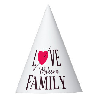 Love Makes a Family - Adoption Party Supplies Party Hat