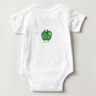 love makes a family (baby) baby bodysuit