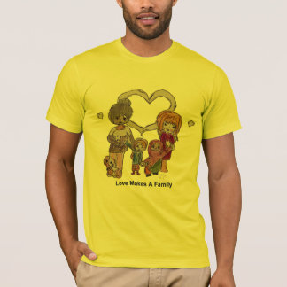 Love Makes a Family by Ainsley-Men's Butter TShirt