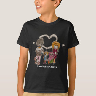 Love Makes a Family by Ainsley T-Shirt