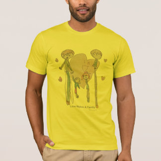 Love Makes a Family by Annika--Men's Butter TShirt