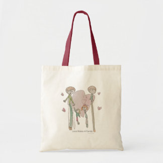 Love Makes a Family by Annika--Tote Tote Bag